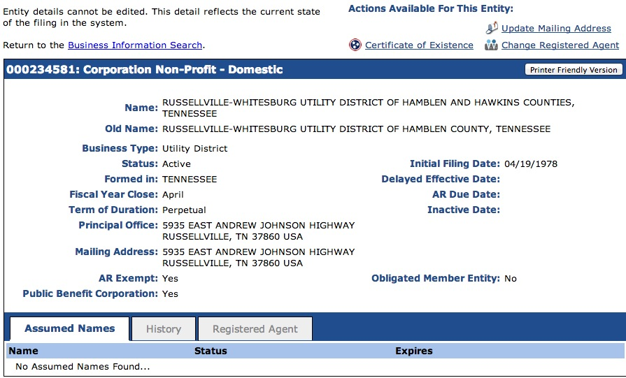 tennessee-secretary-of-state-entity-information-page