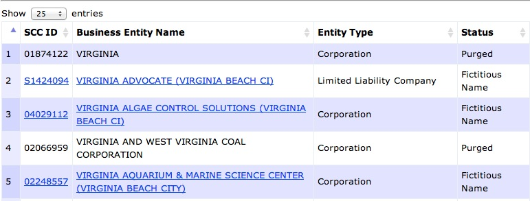 virginia-secretary-of-state-entity-results-page